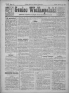 Goniec Wielkopolski: najtańsze pismo codzienne dla wszystkich stanów 1922.07.29 R.45 Nr170