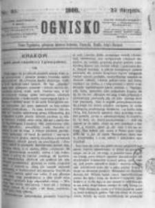 Ognisko. 1860.08.25 R.1 nr35