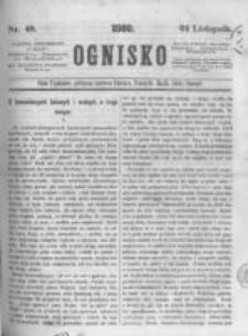 Ognisko. 1860.11.24 R.1 nr48