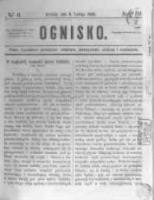 Ognisko. 1862.02.09 R.3 nr6