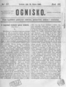 Ognisko. 1862.03.16 R.2 nr11