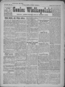 Goniec Wielkopolski: najtańsze pismo codzienne dla wszystkich stanów 1922.12.20 R.45 Nr291