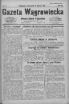 Gazeta Wągrowiecka: pismo ziemi pałuckiej 1931.01.21 R.11 Nr16