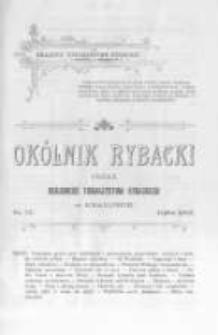 Okólnik Rybacki. Organ Krajowego Towarzystwa Rybackiego w Krakowie. 1905 nr77