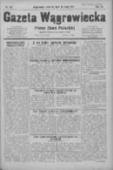 Gazeta Wągrowiecka: pismo ziemi pałuckiej 1931.05.12 R.11 Nr109