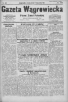 Gazeta Wągrowiecka: pismo ziemi pałuckiej 1931.09.09 R.11 Nr207