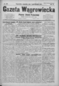 Gazeta Wągrowiecka: pismo ziemi pałuckiej 1931.10.01 R.11 Nr226