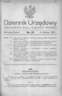Dziennik Urzędowy Ministerstwa Byłej Dzielnicy Pruskiej 1920.06.14 R.1 Nr31