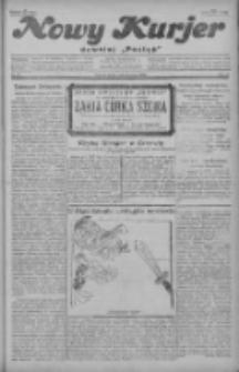 """Nowy Kurjer: dawniej """"Postęp"""" 1929.03.09 R.40 Nr57"""