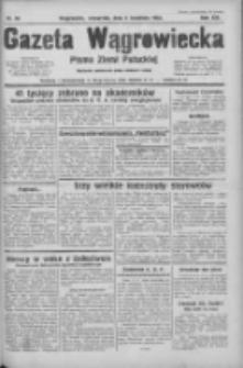 Gazeta Wągrowiecka: pismo ziemi pałuckiej 1933.04.06 R.13 Nr80
