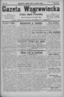 Gazeta Wągrowiecka: pismo ziemi pałuckiej 1933.08.11 R.13 Nr183