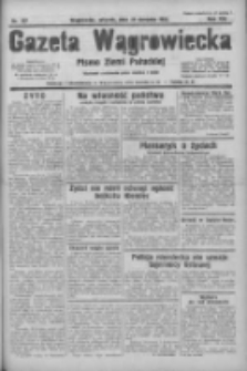 Gazeta Wągrowiecka: pismo ziemi pałuckiej 1933.08.29 R.13 Nr197