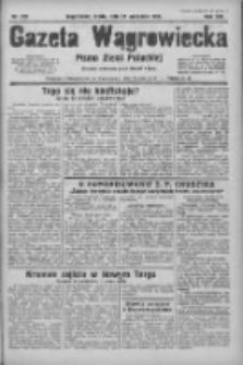 Gazeta Wągrowiecka: pismo ziemi pałuckiej 1933.09.27 R.13 Nr222