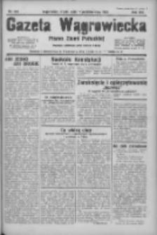 Gazeta Wągrowiecka: pismo ziemi pałuckiej 1933.10.11 R.13 Nr234