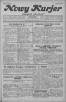 """Nowy Kurjer: dawniej """"Postęp"""" 1929.09.07 R.40 Nr206"""