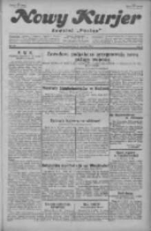 """Nowy Kurjer: dawniej """"Postęp"""" 1929.09.27 R.40 Nr223"""
