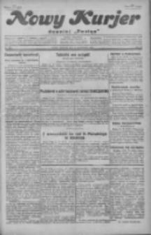 """Nowy Kurjer: dawniej """"Postęp"""" 1929.10.17 R.40 Nr240"""