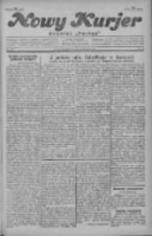 """Nowy Kurjer: dawniej """"Postęp"""" 1929.10.27 R.40 Nr249"""