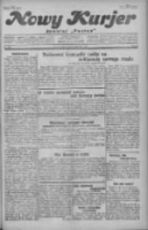 """Nowy Kurjer: dawniej """"Postęp"""" 1929.11.08 R.40 Nr258"""