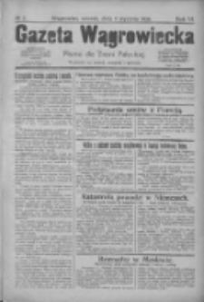 Gazeta Wągrowiecka: pismo dla ziemi pałuckiej 1926.01.05 R.6 Nr2