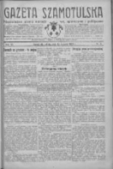 Gazeta Szamotulska: niezależne pismo narodowe, społeczne i polityczne 1933.01.14 R.12 Nr6