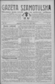 Gazeta Szamotulska: niezależne pismo narodowe, społeczne i polityczne 1933.05.06 R.12 Nr52