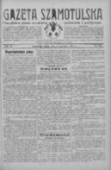 Gazeta Szamotulska: niezależne pismo narodowe, społeczne i polityczne 1933.09.16 R.12 Nr108