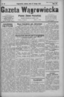 Gazeta Wągrowiecka: pismo ziemi pałuckiej 1932.02.27 R.12 Nr47