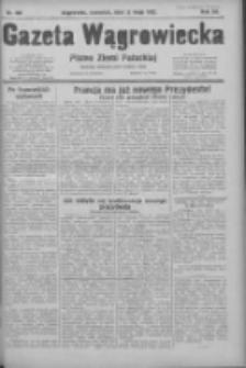 Gazeta Wągrowiecka: pismo ziemi pałuckiej 1932.05.12 R.12 Nr108