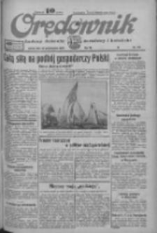 Orędownik: ludowy dziennik narodowy i katolicki 1933.10.21 R.63 Nr243