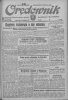 Orędownik: ilustrowane pismo narodowe i katolickie 1933.11.18 R.63 Nr266