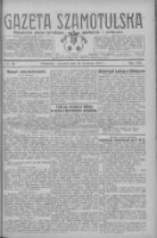 Gazeta Szamotulska: niezależne pismo narodowe, społeczne i polityczne 1929.04.18 R.8 Nr46