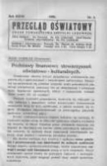 Przegląd Oświatowy: organ Towarzystwa Czytelni Ludowych 1932 R.27 Nr3