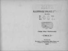 Piast: kalendarz polski ludowy na rok 1887 R.10