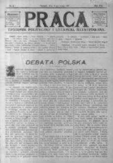Praca: tygodnik polityczny i literacki, illustrowany. 1917.02.25 R.21 nr8