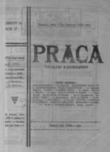 Praca: ilustrowany tygodnik popularny, poświęcony nauce - literaturze - sztuce - sprawom społecznym - godziwej rozrywce. 1923.06.17 R.27 nr24