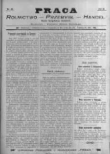 Praca: tygodnik dla wszystkich stanów, poświęcony sprawom handlu, przemysłu i rolnictwa. 1898.05.29 R.3 nr22