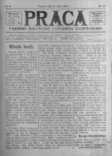 Praca: tygodnik polityczny i literacki, illustrowany. 1907.07.21 R.11 nr29