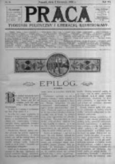 Praca: tygodnik polityczny i literacki, illustrowany. 1908.04.05 R.12 nr14
