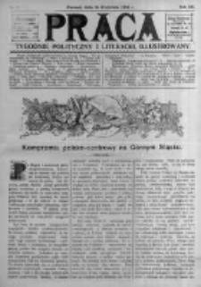 Praca: tygodnik polityczny i literacki, illustrowany. 1908.04.26 R.12 nr17