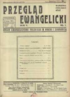 Przegląd Ewangelicki: organ ewangelizmu polskiego w kraju i zagranicą 1938.02.13 R.5 Nr7