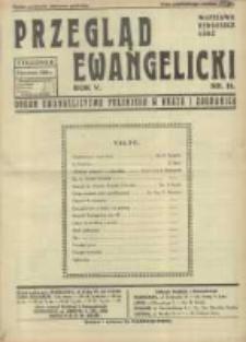 Przegląd Ewangelicki: organ ewangelizmu polskiego w kraju i zagranicą 1938.04.03 R.5 Nr14