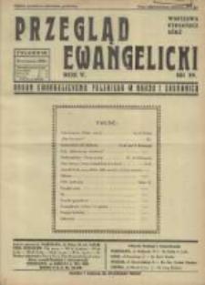 Przegląd Ewangelicki: organ ewangelizmu polskiego w kraju i zagranicą 1938.09.25 R.5 Nr39