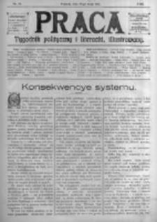 Praca: tygodnik polityczny i literacki, illustrowany. 1914.05.17 R.18 nr20