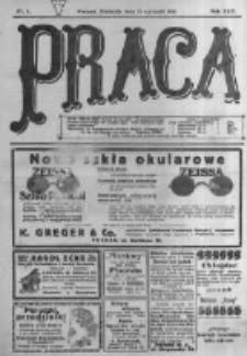 Praca: tygodnik polityczny i literacki, illustrowany. 1918.01.27 R.22 nr4