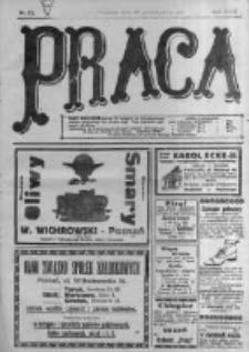 Praca: tygodnik polityczny i literacki, illustrowany. 1918.10.20 R.22 nr42