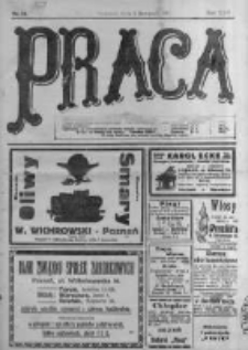 Praca: tygodnik polityczny i literacki, illustrowany. 1918.11.03 R.22 nr44