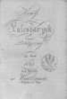 Nowy Kalendarzyk Polityczny na Rok 1824