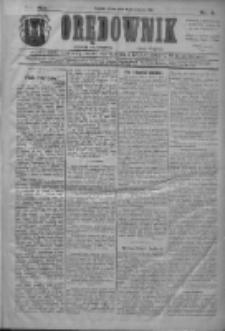 Orędownik: najstarsze ludowe pismo narodowe i katolickie w Wielkopolsce 1911.01.04 R.41 Nr3