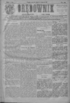 Orędownik: najstarsze ludowe pismo narodowe i katolickie w Wielkopolsce 1911.01.12 R.41 Nr9